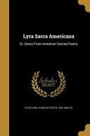 LYRA SACRA AMERICANA PDF