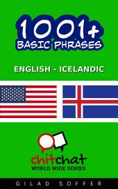 1001+ Basic Phrases English - Icelandic