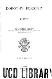Dorothy Forster: A Novel