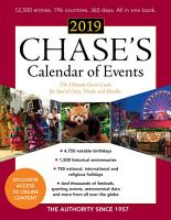 Chase s Calendar of Events 2019 PDF