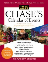 Chase S Calendar Of Events 2019 Book PDF