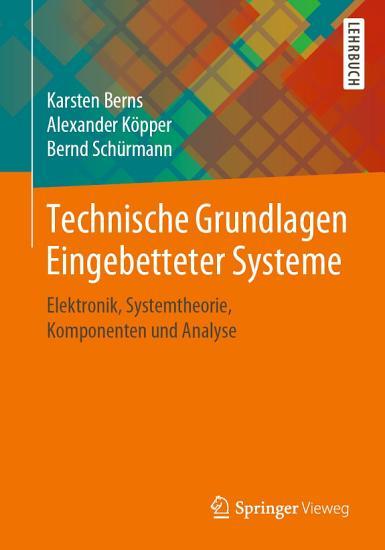 Technische Grundlagen Eingebetteter Systeme PDF