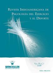 Revista Iberoamericana de Psicología del Ejercicio y el Deporte VOL. III Nº 1