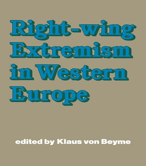 Right wing Extremism in Western Europe PDF