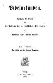 Völlstandiges Bibelwerk für die Gemeinde: in drei Abtheilungen