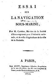 Essai sur la navigation sous-marine