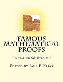Famous Mathematical Proofs PDF