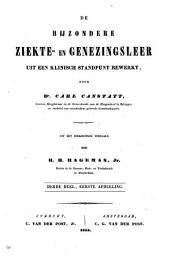 De bijzondere ziekte- en genezingsleer uit een klinisch standpunt bewerkt: Volume 4