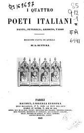 I quattro poeti italiani: Dante, Petrarca, Ariosto, Tasso