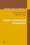 Chaos: A Statistical Perspective
