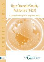 Open Enterprise Security Architecture O ESA PDF