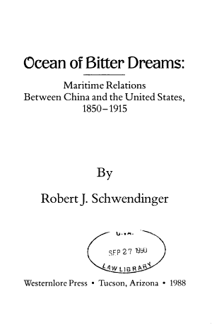 Ocean Of Bitter Dreams