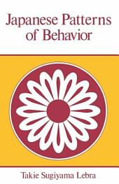 Japanese Patterns of Behaviour