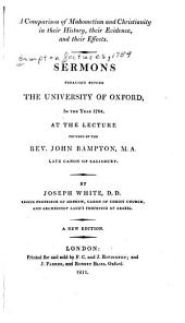 Sermons Preached Before the University of Oxford, in the Year 1784: At the Lecture Founded by the Rev. John Bampton