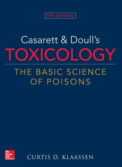 Casarett   Doull s Toxicology  The Basic Science of Poisons  Ninth Edition PDF