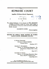 Supreme Court Appellate Division Fourth Department