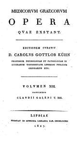 Clavdii Galeni Opera omnia: Τόμος 13