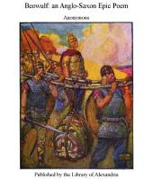 Beowulf: an Anglo-Saxon Epic Poem