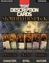 Description Cards - Storytellers Deck: Full Print and Play Edition