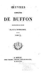 Oeuvres complètes de Buffon: Quadrupèdes
