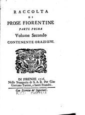 Prose fiorentine raccolte dallo Smarrito [pseud.] accademico della Crusca: Volume 2,Parte 1