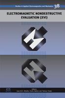 Electromagnetic Nondestructive Evaluation  XVI  PDF