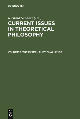 The Externalist Challenge PDF