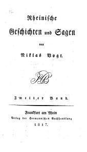 Rheinische Geschichten und Sagen: 2