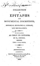 A collection of epitaphs and monumental inscriptions