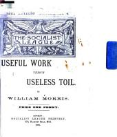 Useful Work Versus Useless Toil