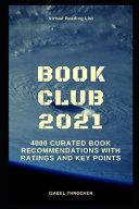 Virtual Reading List Book Club 2021