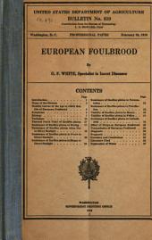 European Foulbrood
