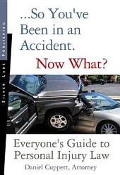 So You've Been in an Accident, Now What?: Everyone's Guide to Personal Injury Law