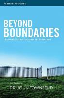Beyond Boundaries Participant s Guide PDF