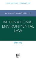 Advanced Introduction to International Environmental Law PDF