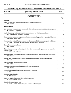The Indian Journal of Chest Diseases   Allied Sciences PDF