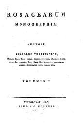 Rosacearum monographia