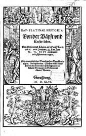 Historia von der Bäpst und Keiser Leben