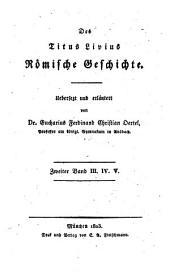 Römische Geschichte: III. IV. V.
