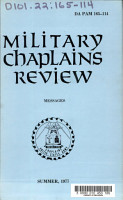 Military Chaplains  Review PDF