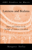 Lateness and Brahms PDF