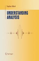 Understanding Analysis PDF