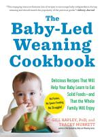 The Baby Led Weaning Cookbook PDF