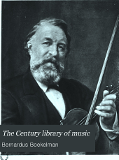 The Century Library of Music: Volume 20