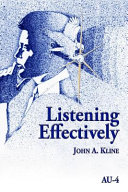 Listening Effectively