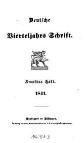 Deutsche Vierteljahrsschrift