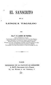 El sanscrito en la lengua tagalog
