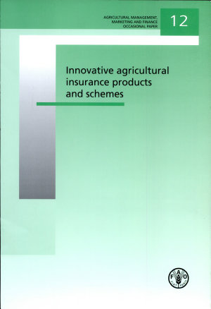 Innovative agricultural insurance products and schemes PDF