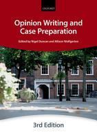 Opinion Writing and Case Preparation PDF