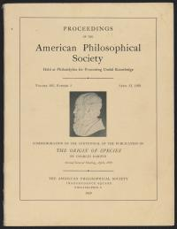 Proceedings of the American Philosophical Society PDF